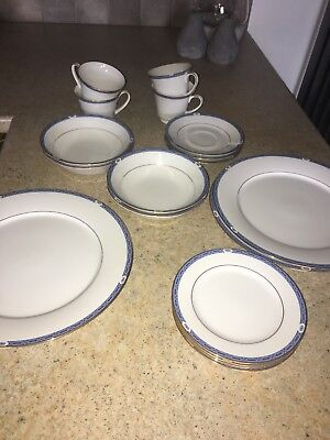 Boots Blenheim Pottery Dinner Service Plates Bowls Cups And Saucers Rare NEW • 100£