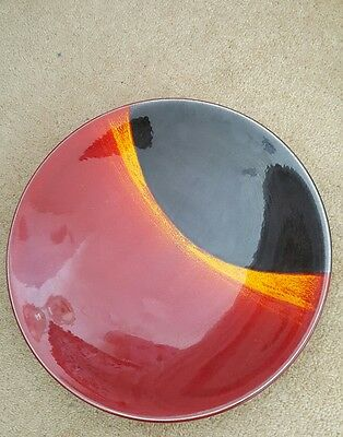 Poole Pottery Limited Edition Solar Eclipse Charger Plate • 139£