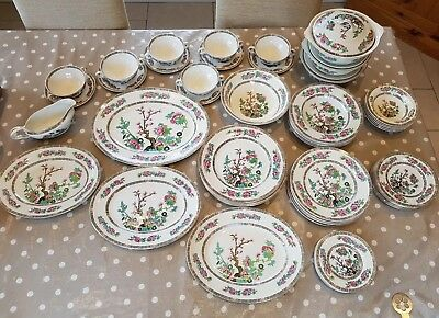 John Maddock Indian Tree Dinner Service Ideal Christmas Table, Beautiful Cond. • 129.99£