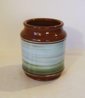 Holkham Studio Pottery Storage Jar / Vase : Slipware : Pre 1961 Mark • 18£