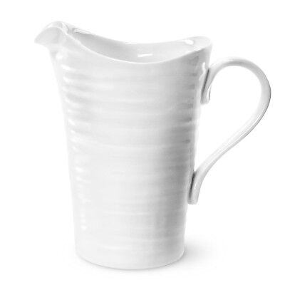 Sophie Conran For Portmeirion Large Pitcher 3pt - White • 17.50£