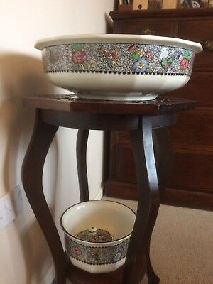 Royal Doulton Chamber Pot Soap Dish And Large Wash Bowl • 45£