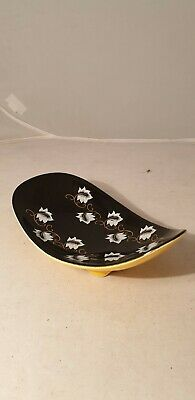 Eastgate Pottery Footed Curved Dish  Yellow Hornsea Elegance Vintage Vgc • 5.99£