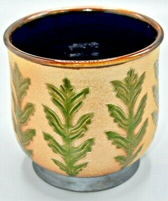 Royal Doulton Archives Bowl Lambethwares L1 Tribute To George Tinworth • 125£