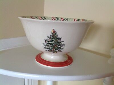 Spode Portmeirion Christmas  Footed Serving Bowl New With Box • 13£