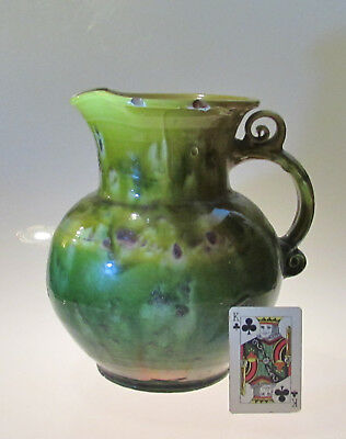 Antique Large Brannam Barum N Devon Pottery Jug • 108£
