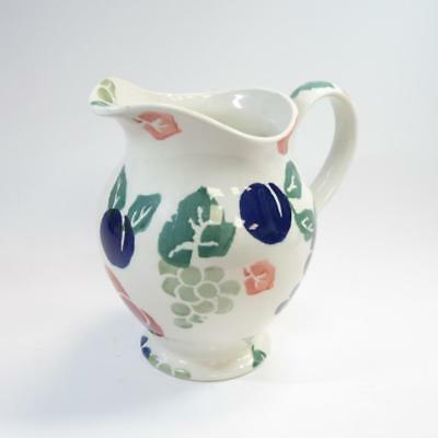 Royal Winton  Bordeaux  Hand Decorated Spongeware Jug With Fruit Print, 6.5  • 20£
