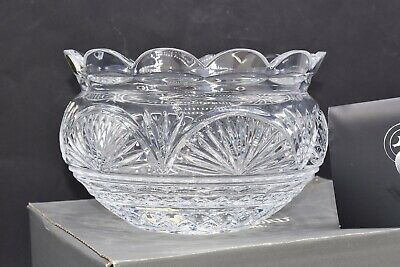 Waterford Crystal ~ Jim O'Leary Celebration ~ 8 Inch Bowl ~ BOXED NEW ~ RARE! • 135£