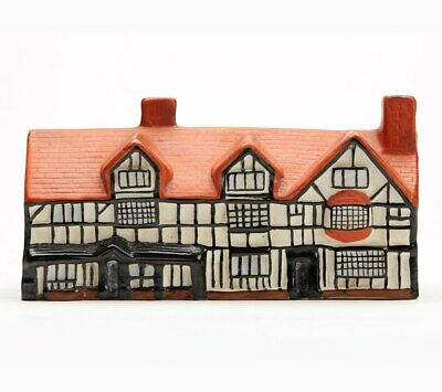 Antique Arcadian Porcelain Shakespeare's House Early 20th C • 210£