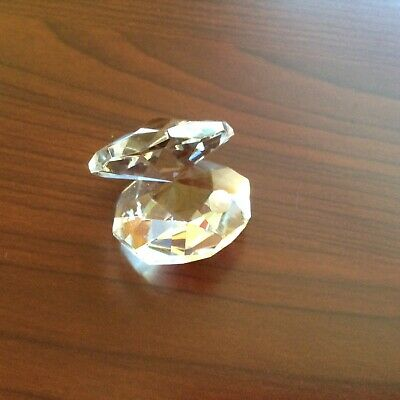 * Crystal Oyster Shell With Pearl • 5£