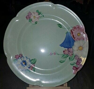 Grays Pottery Art Deco Charger Floral No A7159 By Sam Talbot Circa 1939-45 • 29.99£