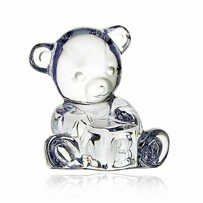 Waterford Crystal Giftology Baby Bear With Block • 40£