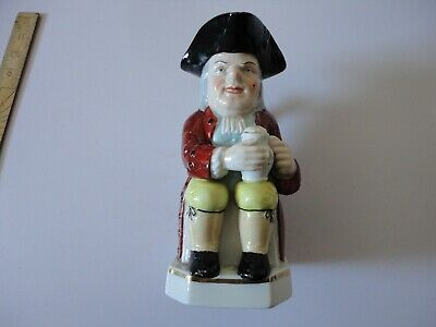 8 Inche Tall Gold Guilded Toby Jug, Gold Anchor  • 40£