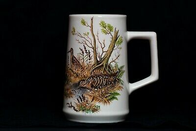 Vintage Holkham Pottery Game Bird Mug • 12.99£