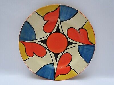 Clarice Cliff Bizarre Double V Side Plate  • 195£