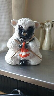 Beautiful Babbacombe Pottery Sheep String And Scissors Holder Ceramic  • 20£