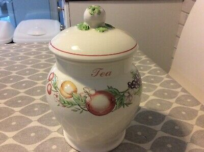 BOOTS PLC Orchard TEA Canister • 6.99£