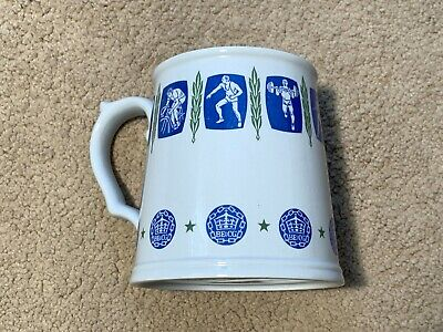 Spode Perth Commonwealth Games 1962 Tankard/Mug, Excellent Condition • 20£