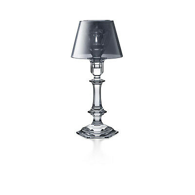 Baccarat Crystal - Harcourt Our Fire Candlestick Silver - Philippe Starck  • 950£