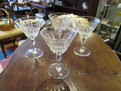 Thomas Webb Set Of Four 1935-49 Cocktail Glasses • 29£