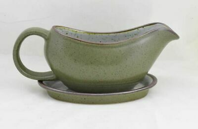 Purbeck Pottery Studland Rondo Gravy Boat And Stand • 9.99£