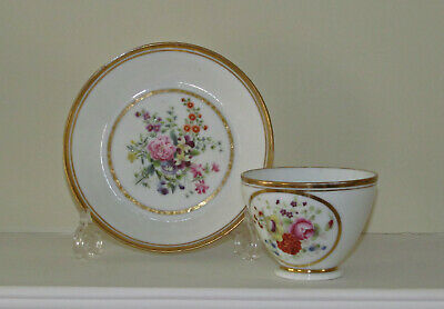A Fine Coffee Cup And Saucer, Possibly French Or Russian, Circa 1820 • 15£