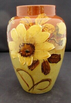 Rookwood American Art Pottery Vase, Barbotine Painted (Limoges Style), C1900 • 100£