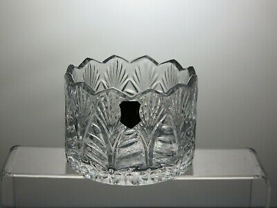 Small Lead Crystal Cut Glass Bowl • 19.99£