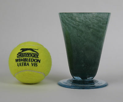 Nazeing Glass Sherwood Green Conical Vase  • 20£