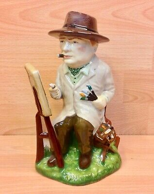 Manor Limited Editions Churchill  Winston The Artist  Figurine. • 69.95£