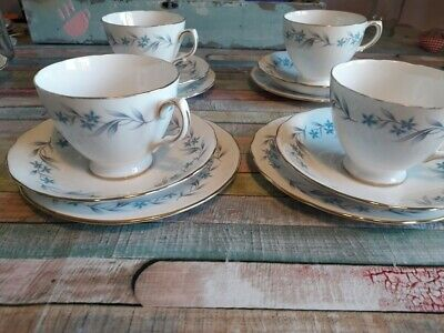 Royal Vale Blue And White X Four Time Trios • 20£