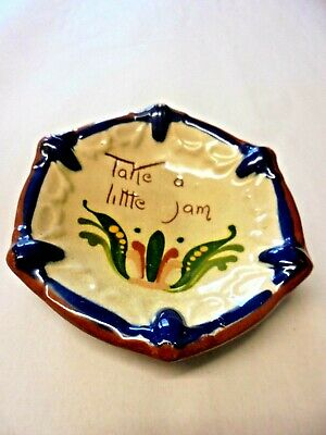 Vintage WATCOMBE Pottery Torquay  JAM DISH DIRECT FROM HOUSE CLEARANCE • 4.50£