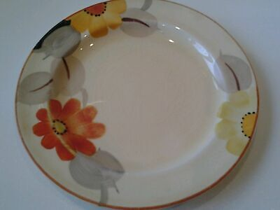 GRAY'S POTTERY: SMALL PLATE - MARIGOLD PATTERN - ART DECO - 1930s. • 15£