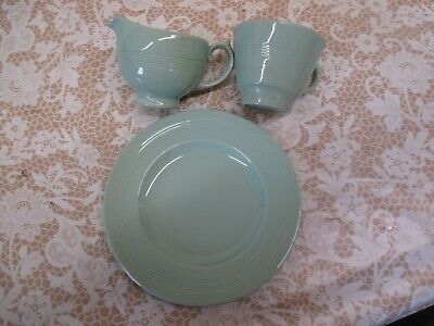 Selection Of Retro Green Woods Beryl Ware For Replacements And Or Tearooms • 4£