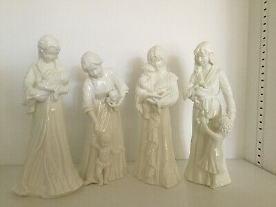 Royal Worcester Figurines,once Upon A Time,new Arrival,first Steps & Sweet Dream • 17.80£