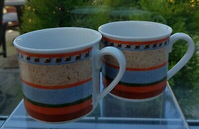 2 X Villeroy & Boch/gallo 'switch 4' Breakfast Cups • 9.99£