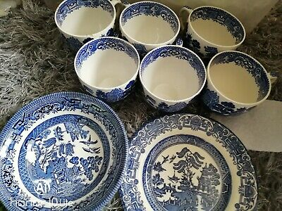Old Willow Pattern • 3£
