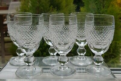 6 X Waterford Crystal 'cashel' Sherry Glasses • 29.99£