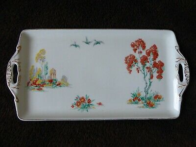 Grindley Tunstall  The Lombardy  Sandwich Cake Plate Tray  • 8.99£