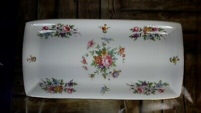 Minton Marlow Floral Sandwich/cake/biscuit Plate • 9.99£