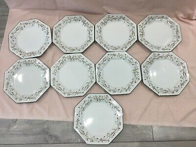 Eternal Beau Johnson Brothers Dinner Plates X 9 - Very Good Condition • 30£