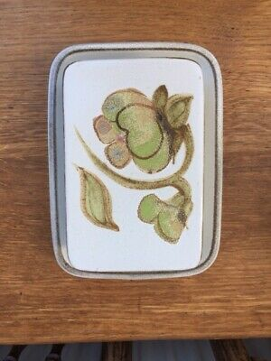 Denby 'Troubadour' Butter Dish With Lid, Excellent Condition. • 10£
