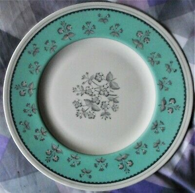 Wedgwood 'pimpernel' Green Dinner Plate,  Dated 1949, Perfect • 20£