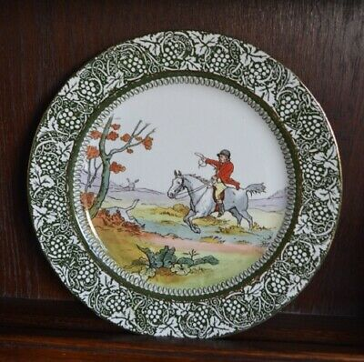 Doulton Burslem Hunting Rack Plate Horse And Rider By George Morland • 25£