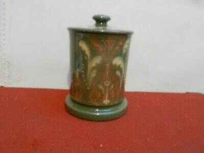Exeter  Art Pottery Marmalade Jar  Hand Painted Design • 22£