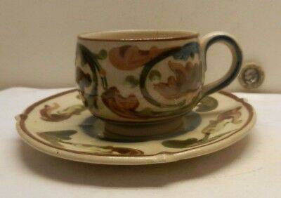 Aller Vale Cup And Saucer • 24£