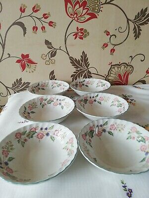 Bhs Victorian Rose Cereal Bowls X 5 • 6.90£