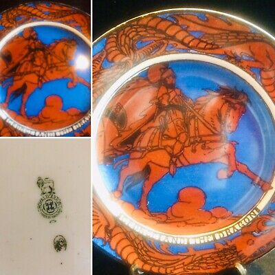 """Large Royal Doulton Charger """"george And The Dragon"""" • 1£"""