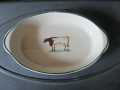 Cloverleaf Farm Animal Large Oval Dish • 9.95£