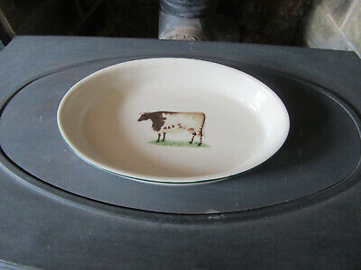 Cloverleaf Farm Animal Oval Dish • 9.95£